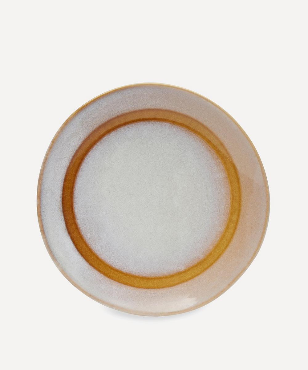 70's Ceramic Dessert Plate