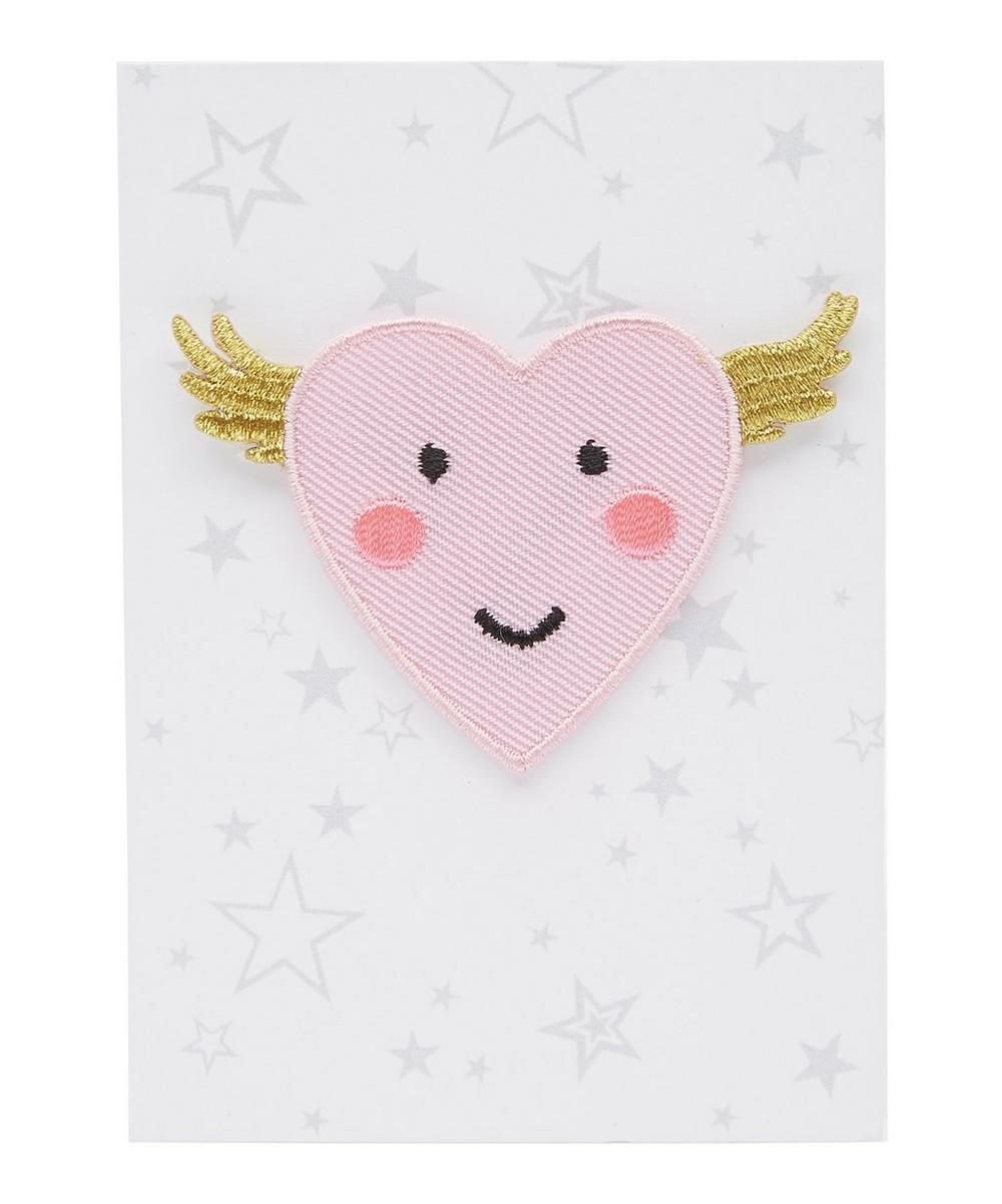 Angel Cake Iron-On Patch