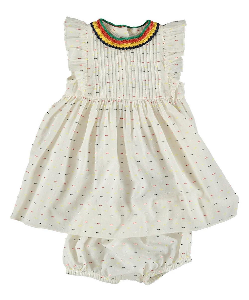 Apricot Baby Dress 3-24 Months