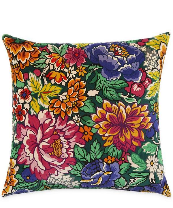 34 Garden of Beauty Velvet Cushion