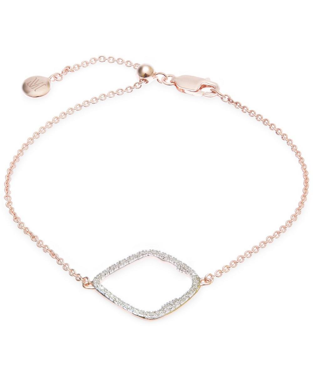 Riva Rose Gold-Plated Large Hoop Bracelet