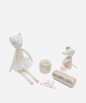 Dancing Cat and Mouse in Shoebox