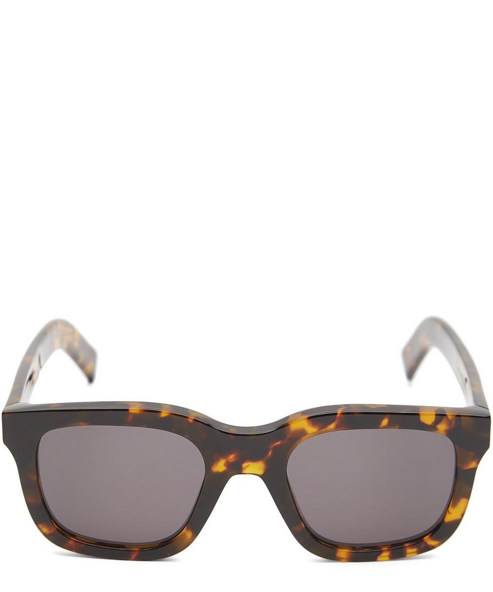 MONOKEL EYEWEAR Neo Havana Sunglasses in Grey