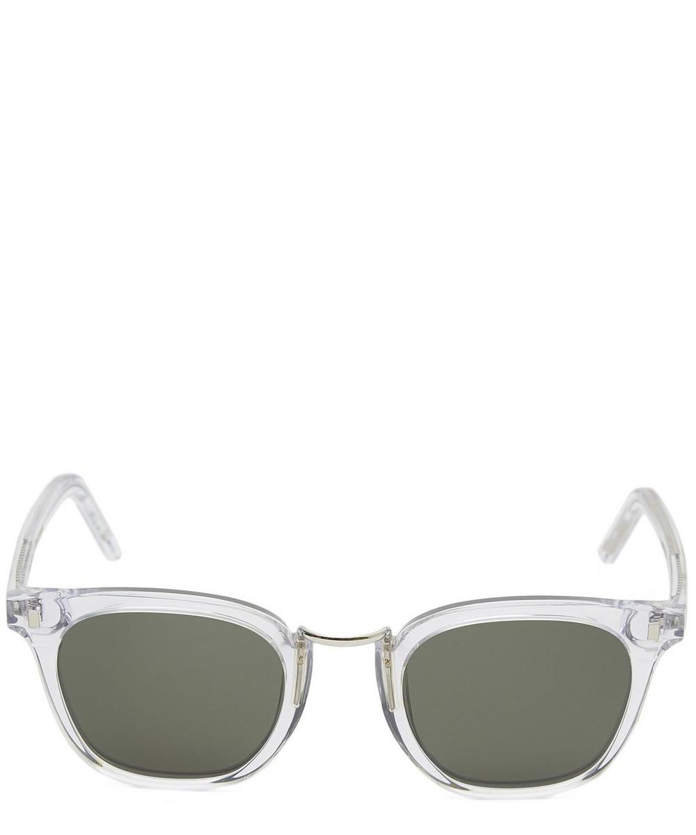 MONOKEL EYEWEAR Ando Sunglasses in White