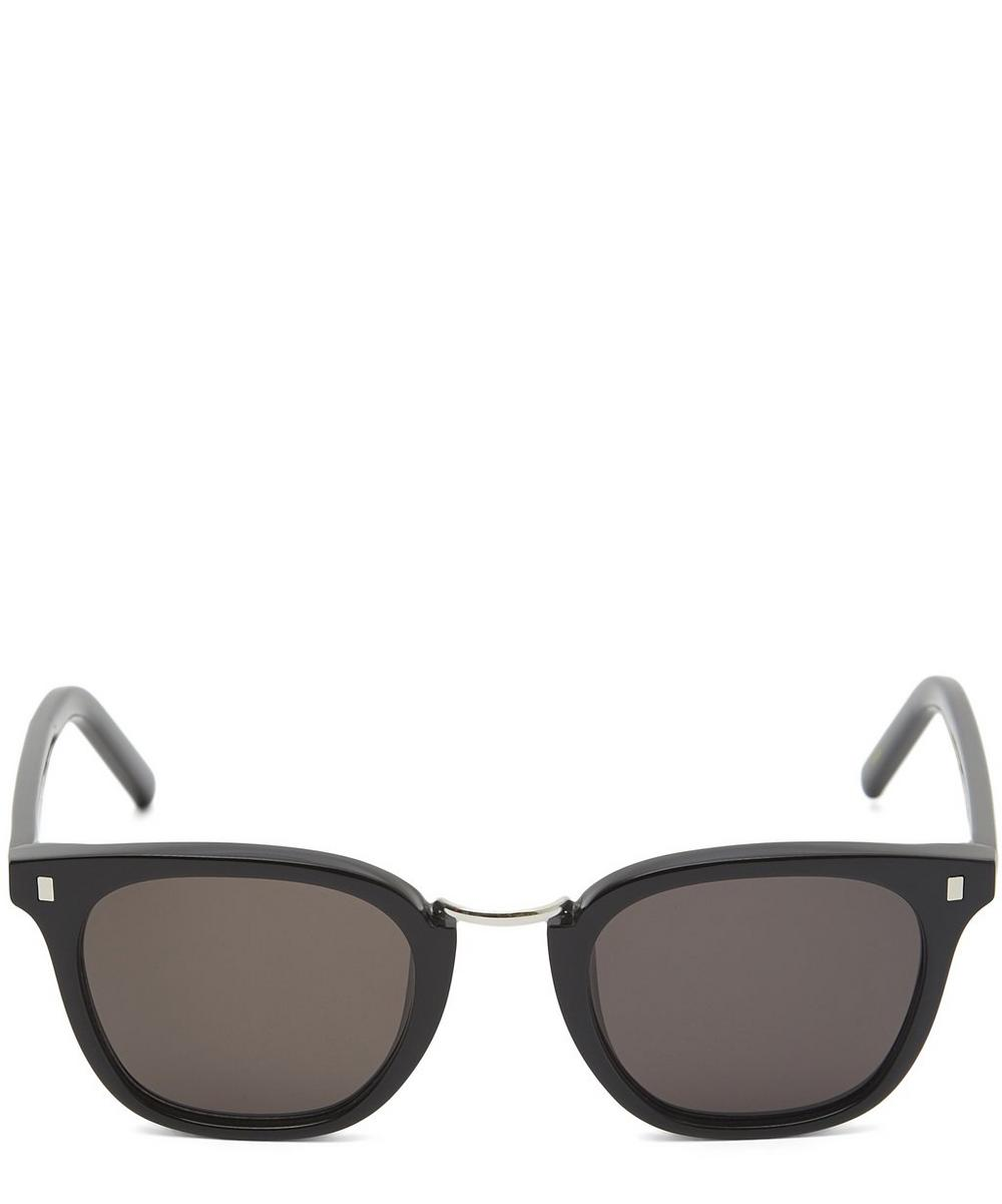 MONOKEL EYEWEAR Ando Sunglasses in Black