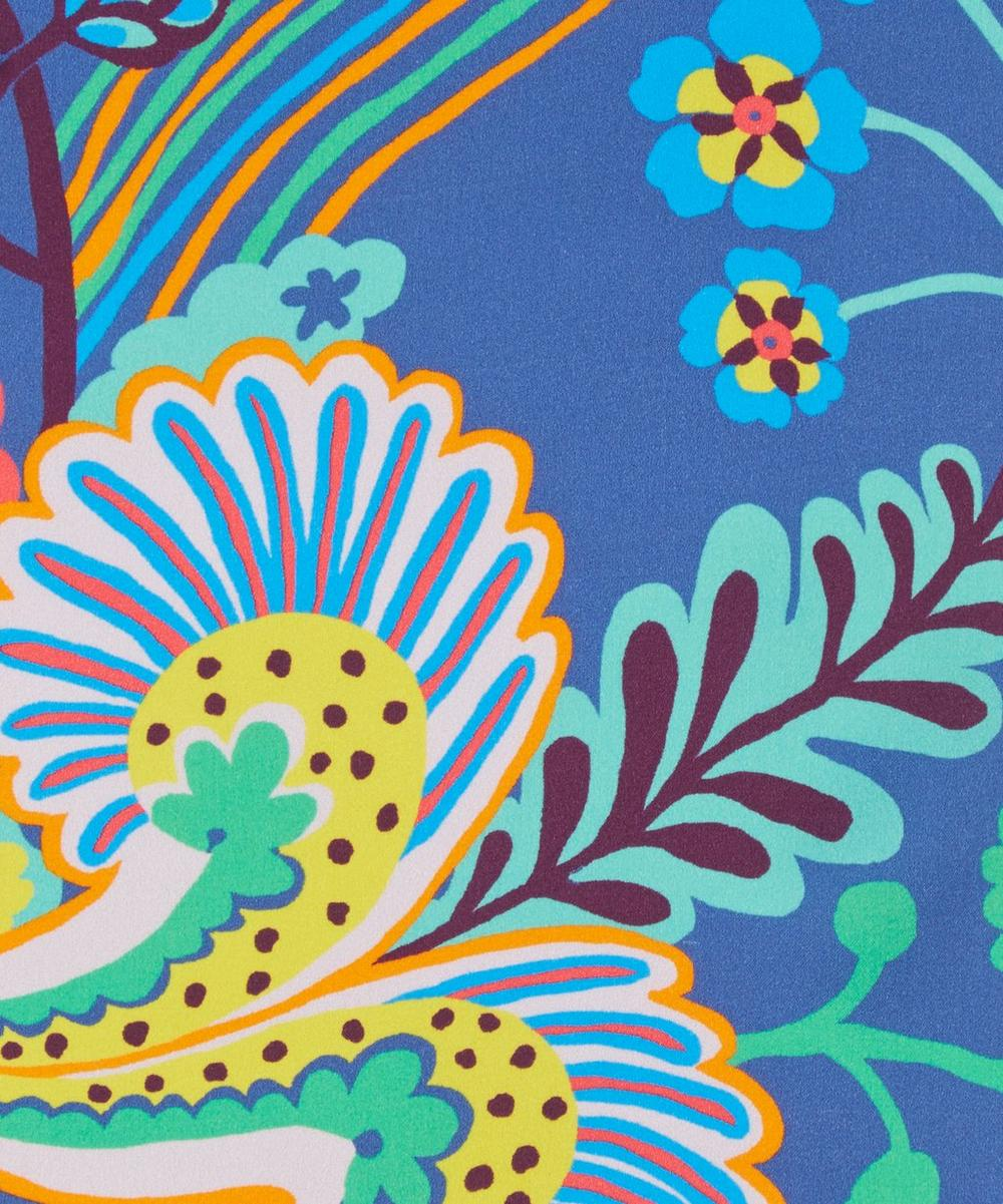 Floral Symphony Silk Satin