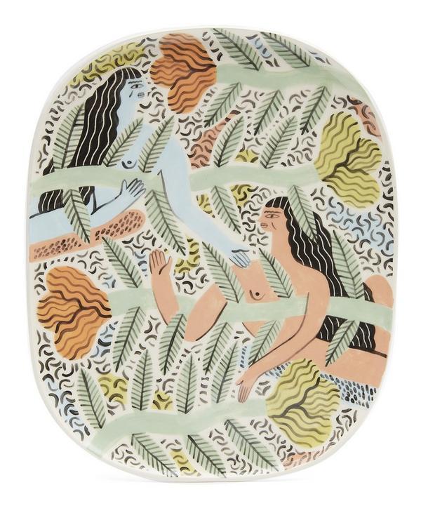 Flower Friends Extra Large Decorative Plate ...  sc 1 st  Liberty London & Decorative Plates \u0026 Bowls | Wall Decoration | Liberty London ...