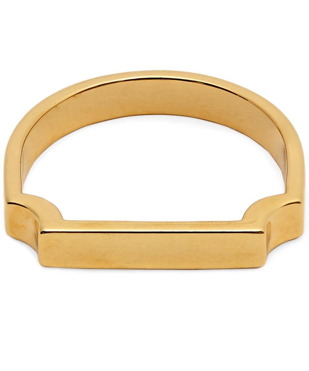 Gold-Plated Signature Ring