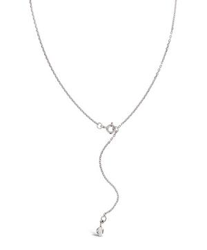Lotus Long Single Petal Pendant Necklace