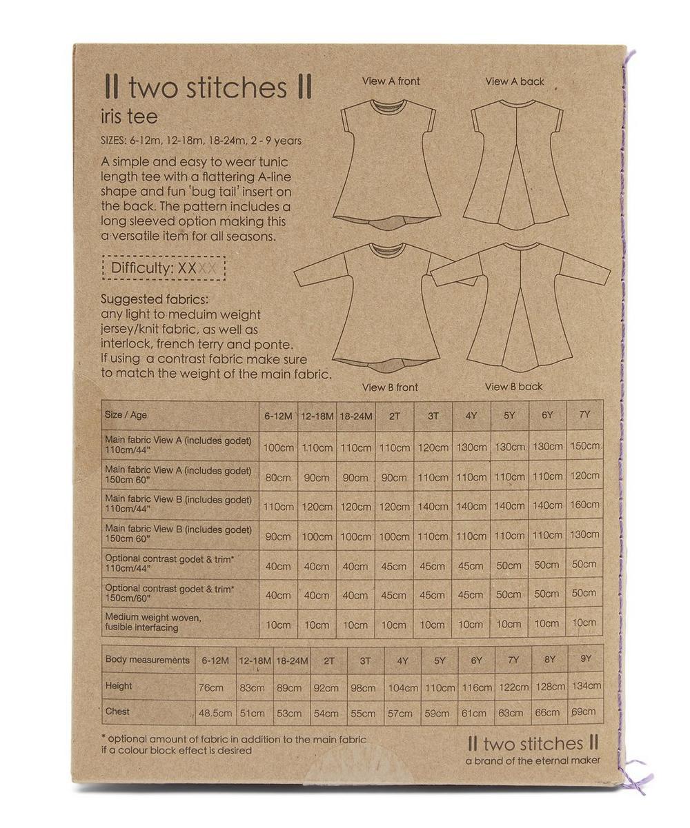 Iris Tunic Tee Pattern