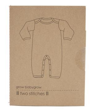 Grow Babygrow Pattern