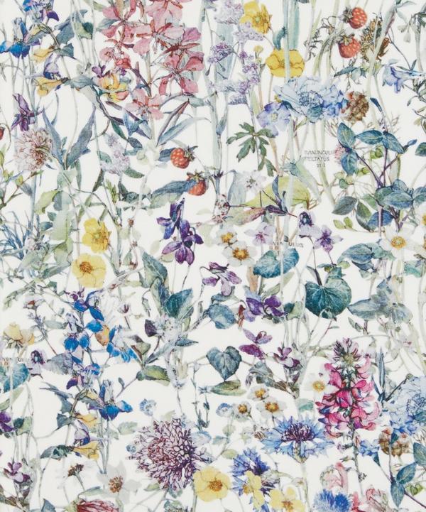 Wild Flowers Silk Crepe de Chine