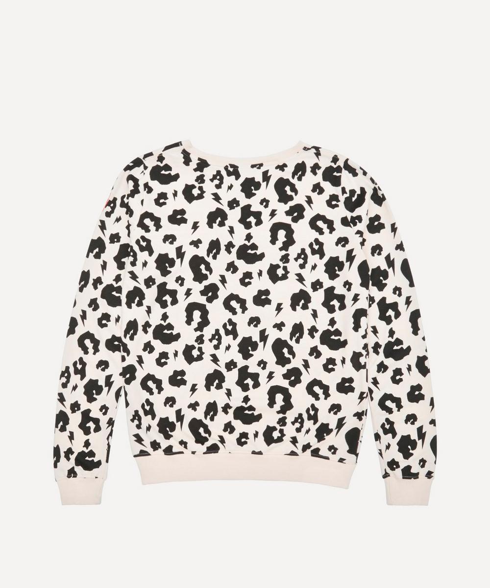 Adult Leopard Print Sweatshirt XS-XL