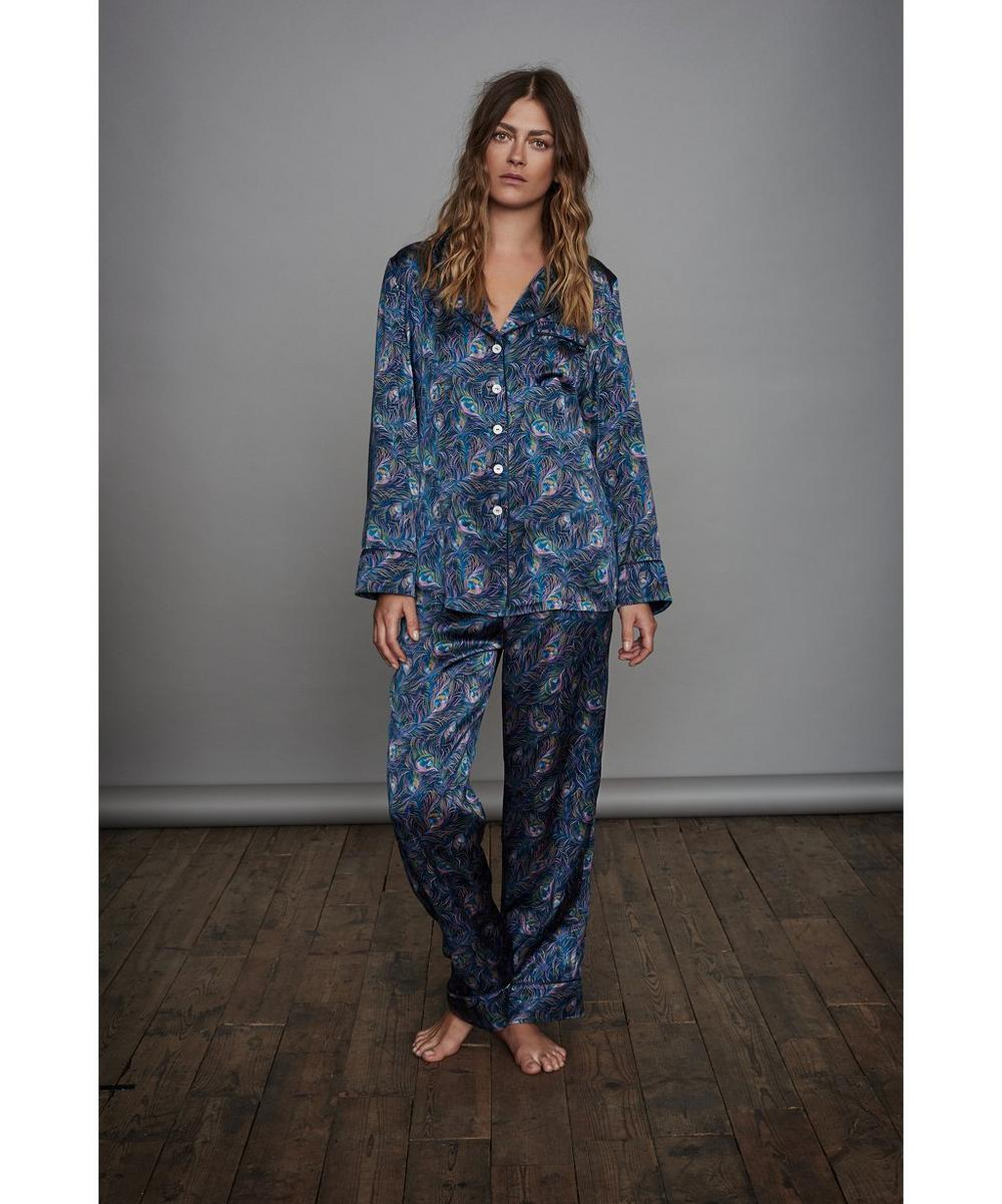 Orion Long Silk Pyjama Set