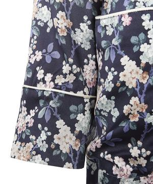 Josephine Long Silk Robe
