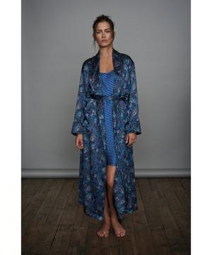 Orion Long Silk Robe
