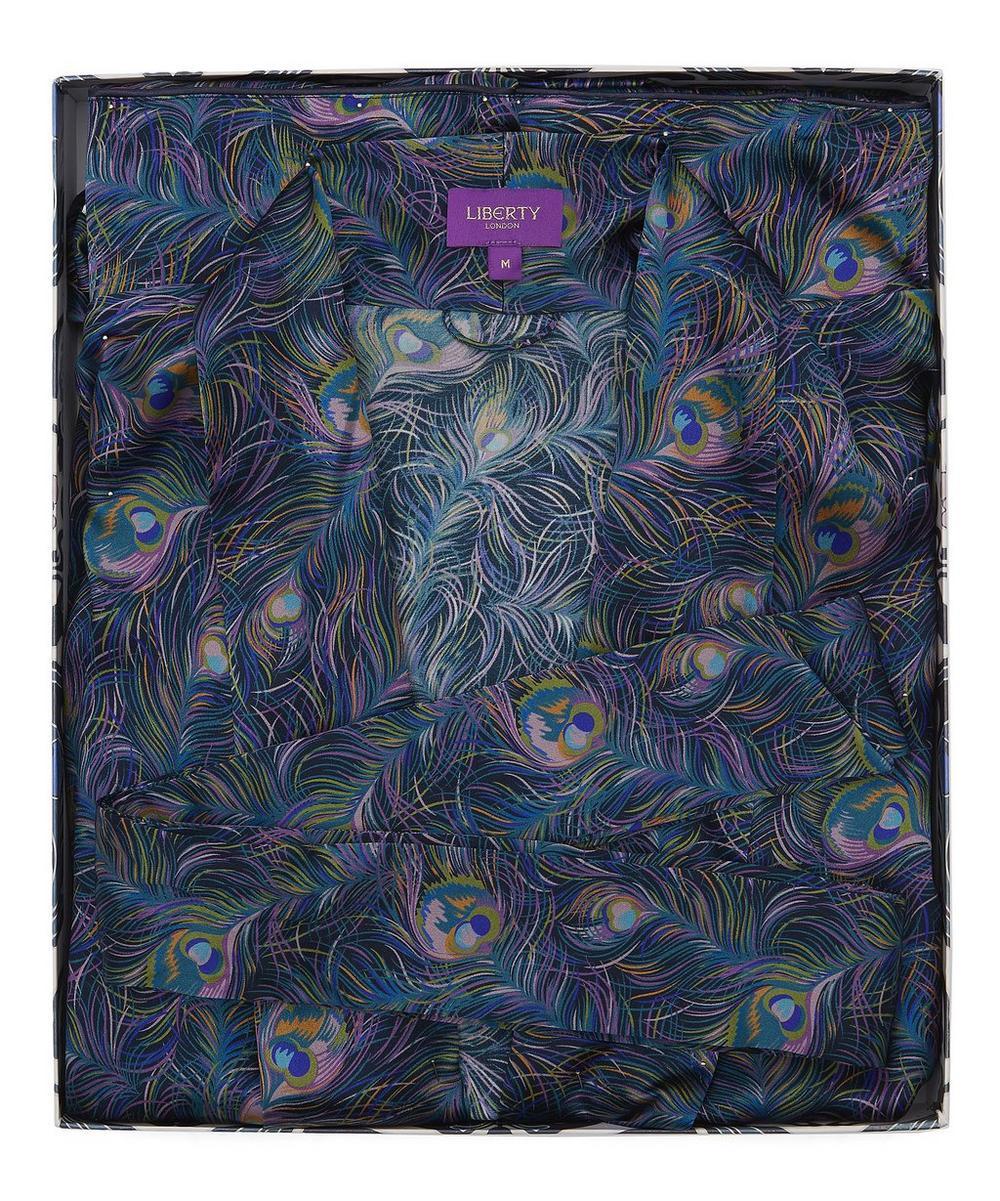 Orion Long Silk Robe