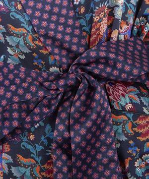 Madeleine Long Silk Robe