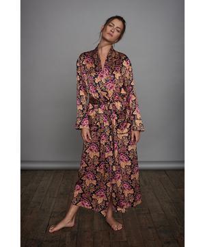 Genevieve Long Silk Robe