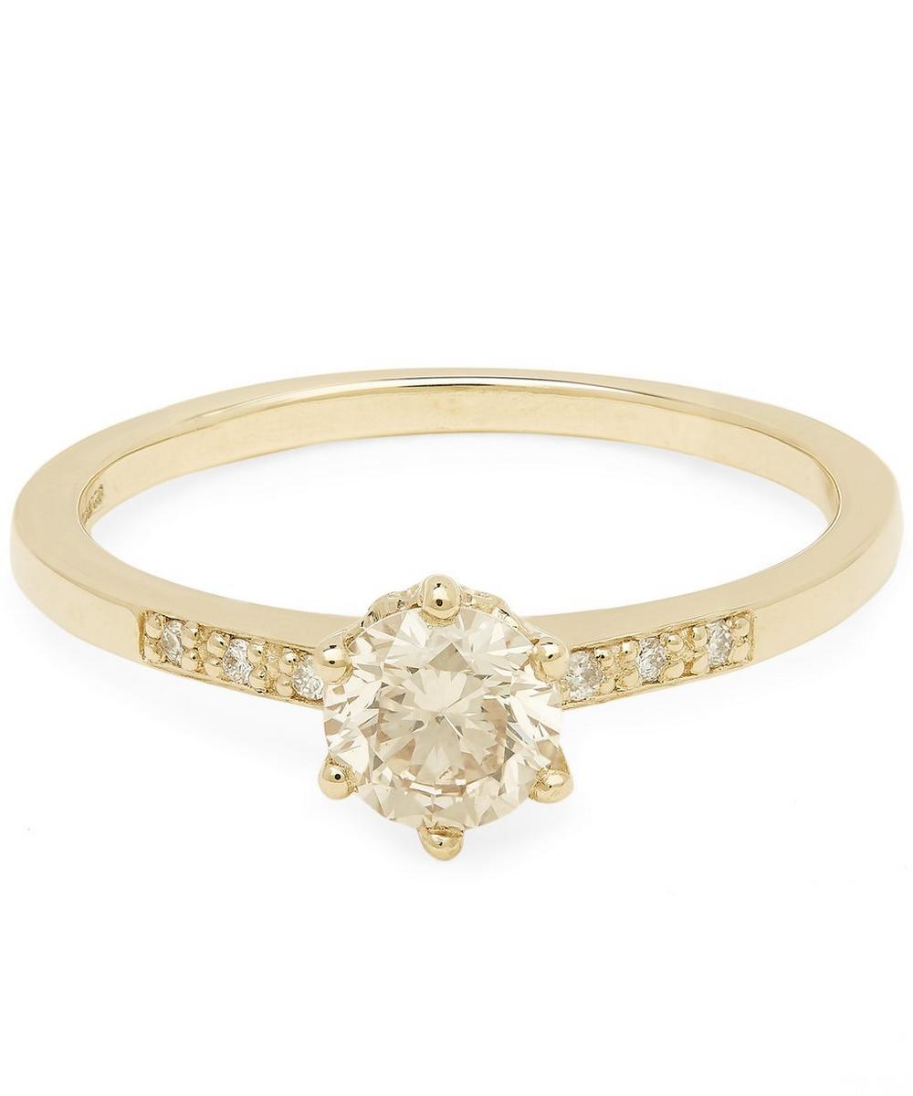 Gold Hazeline Diamond Ring