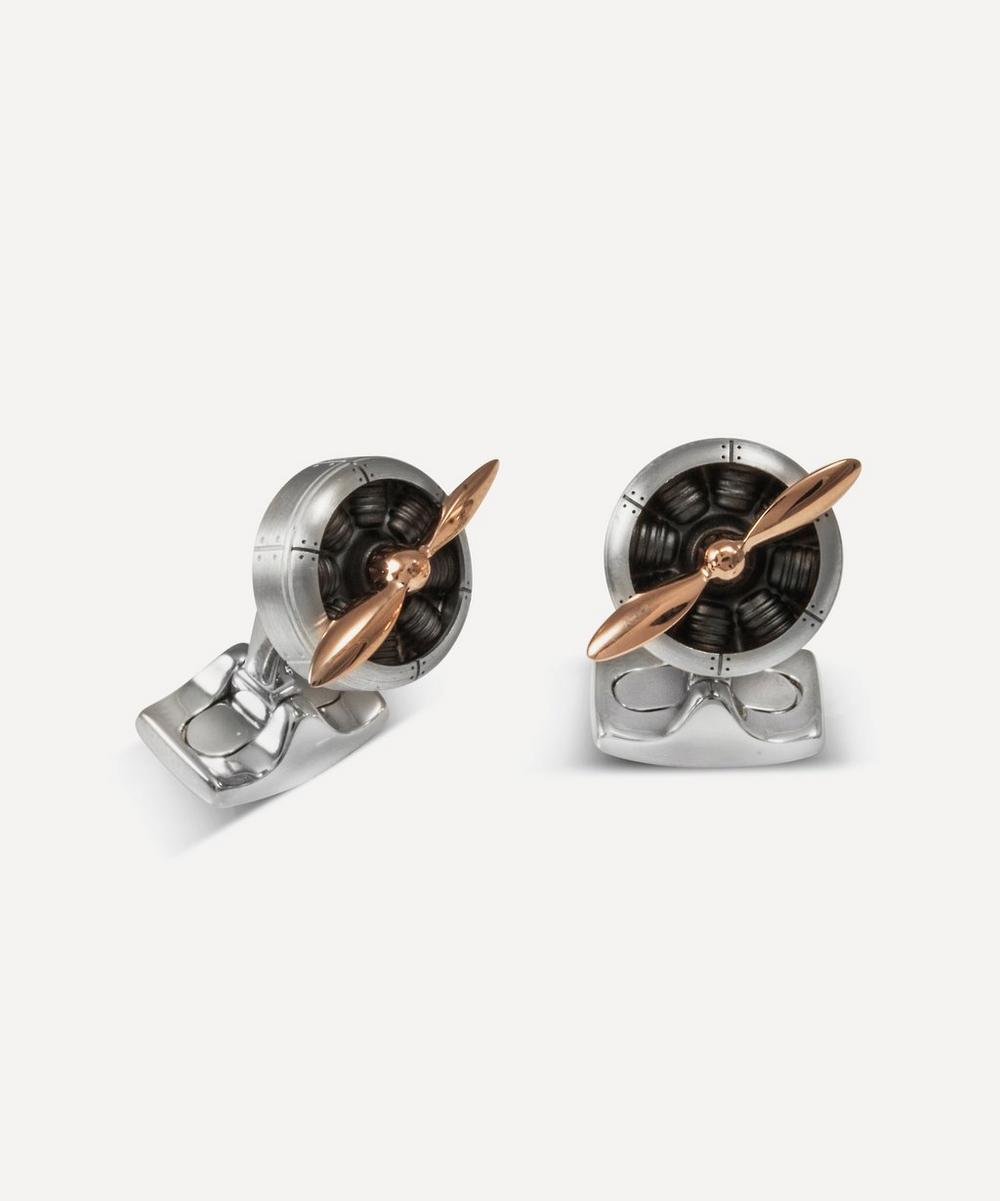 Deakin and Francis Sopwith Propeller Cufflinks