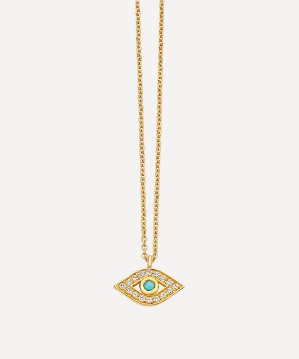 Astley Clarke - Biography Mini Evil Eye Pendant Necklace