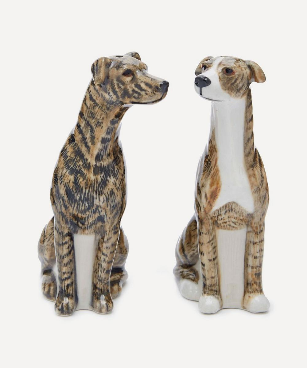 Greyhound Salt and Pepper Shakers