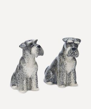 Schnauzer Salt and Pepper Shakers