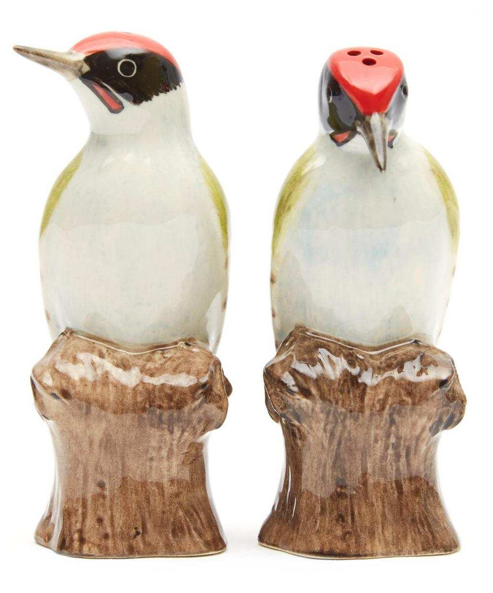 Woodpecker Salt and Pepper Shakers