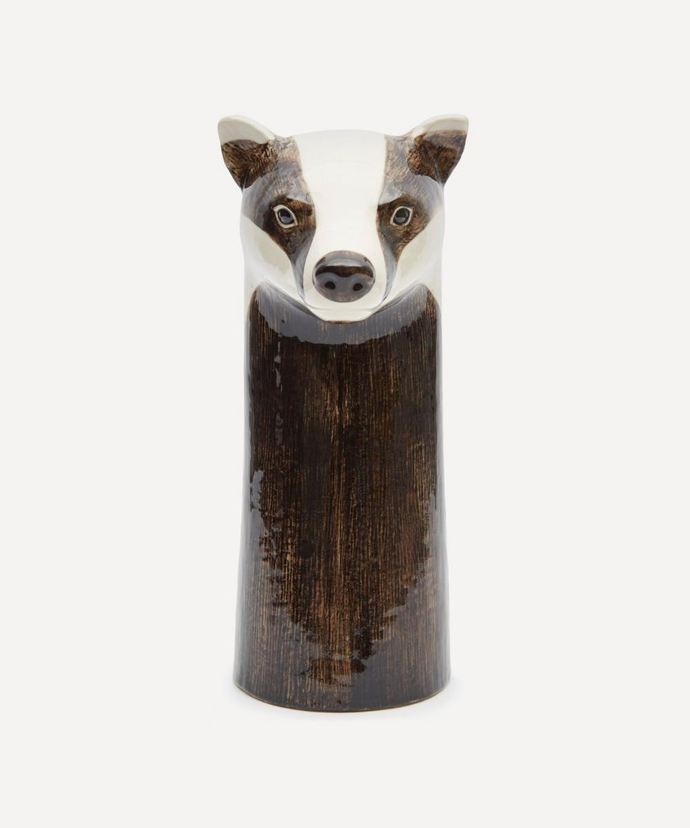 Quail - Large Badger Vase