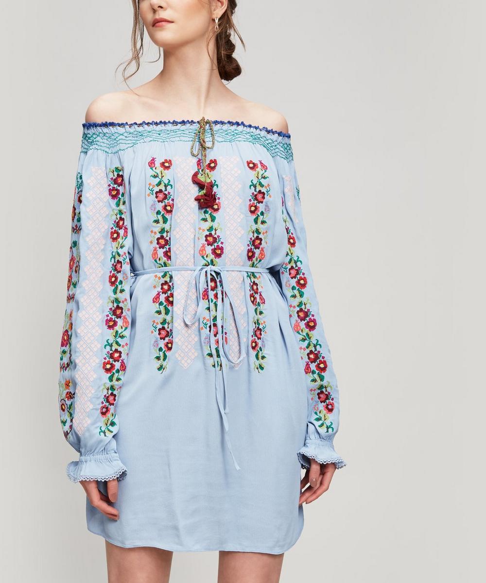 Needle & Thread CROSS-STITCH FLOWER DRESS