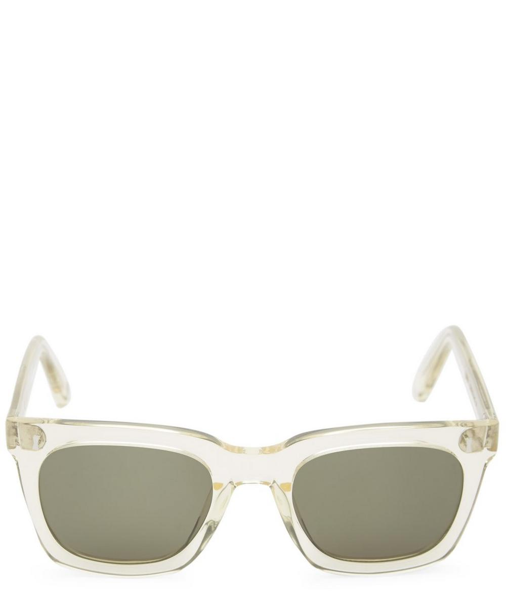 Cubitts Judd Square Sunglasses in White