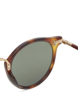 Flaxman Round Acetate Sunglasses