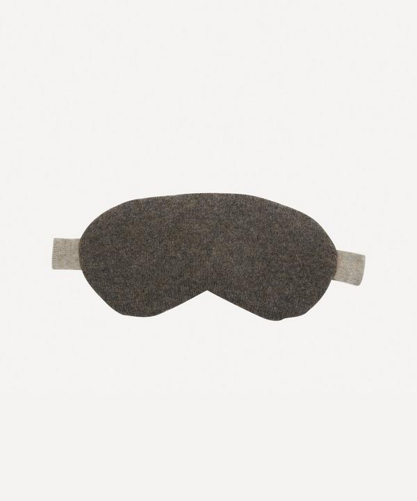 Row Pinto - Ptarmigan Knitted Cashmere Liberty Print Eye Mask