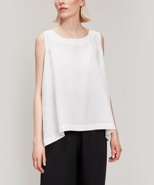 Shell Silk Sleeveless Top