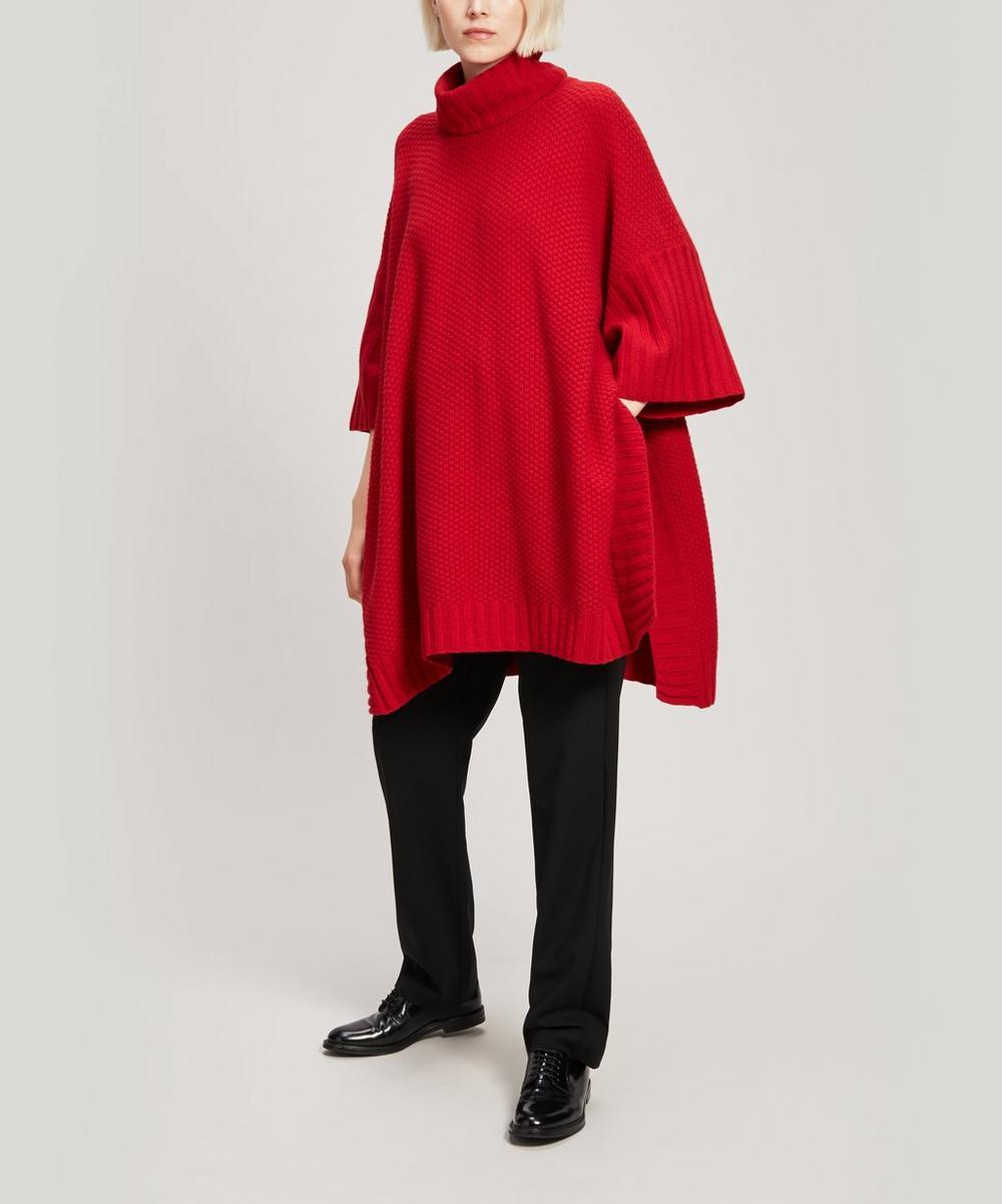 Narrow Stretch-Wool Trousers