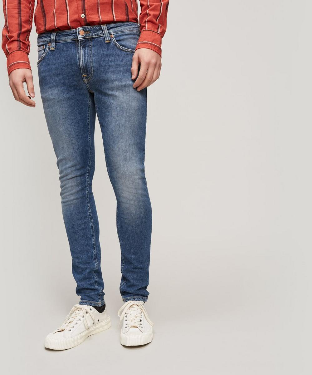 Nudie JeansSKINNY LIN - Jeans Skinny Fit - celestial