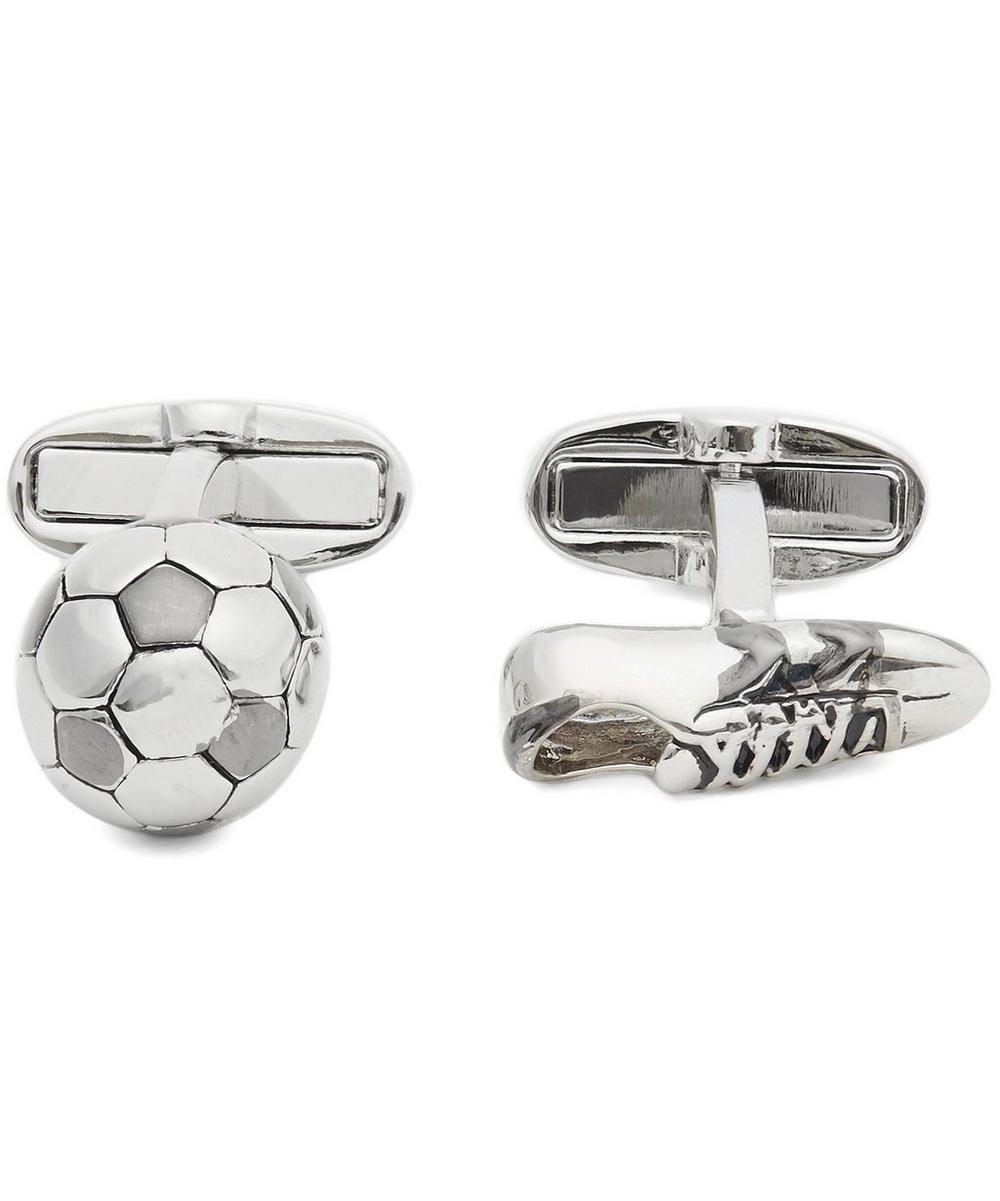 Football and Boot Cufflinks