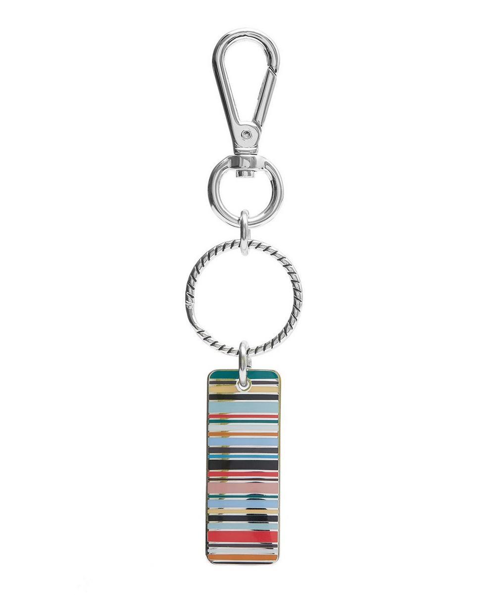 Multi-Stripe Tag Keyring