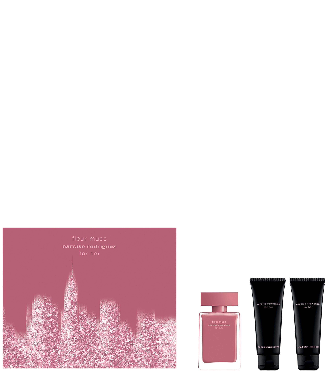 For De Musc Eau Set Fleur Her Gift Parfum UzpSMV
