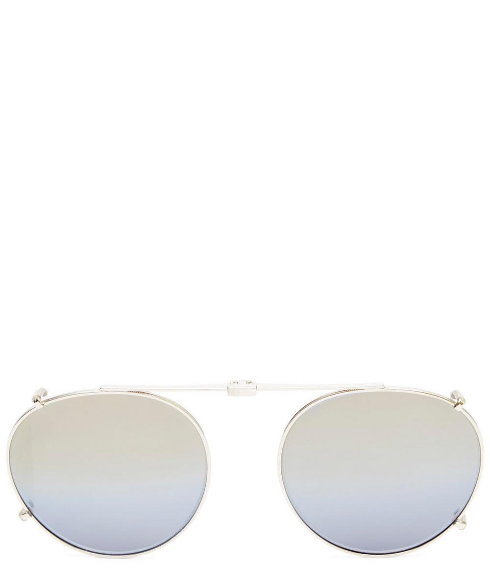 Wilson Mirrored Lens Sunglasses Clip