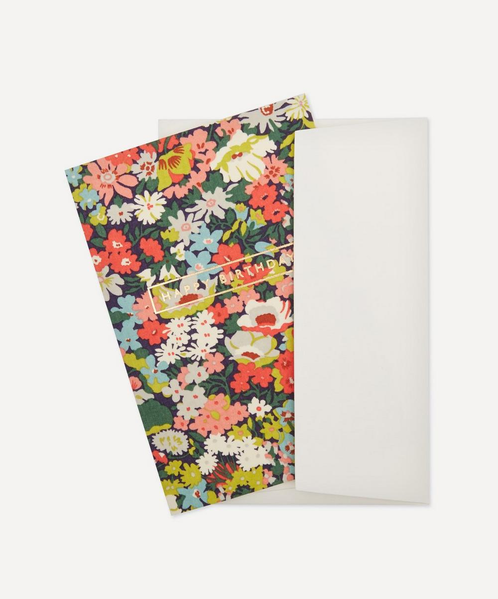 Thorpe Cotton-Covered Happy Birthday Card