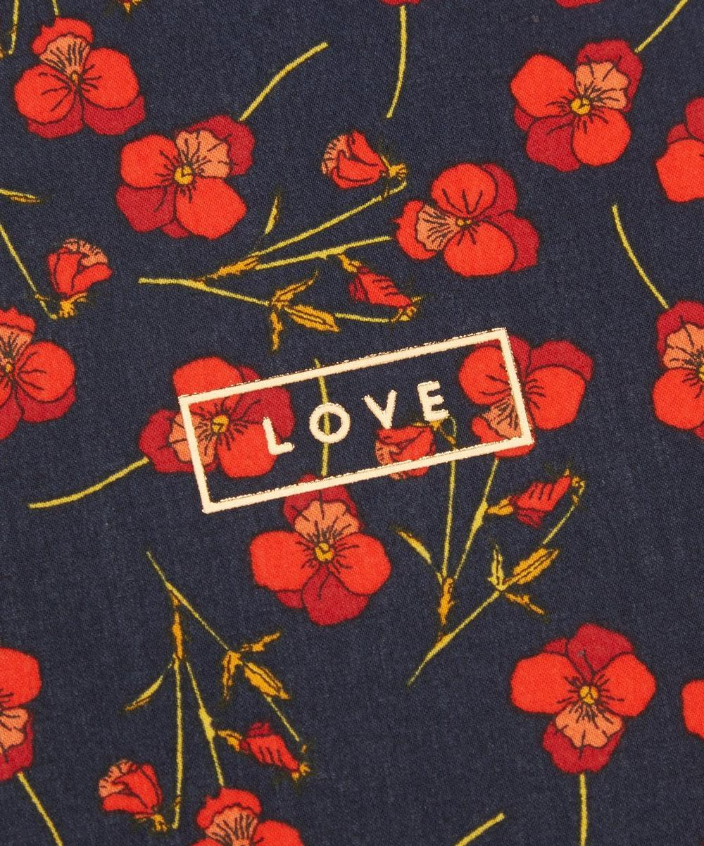 Ros Cotton-Covered Love Card