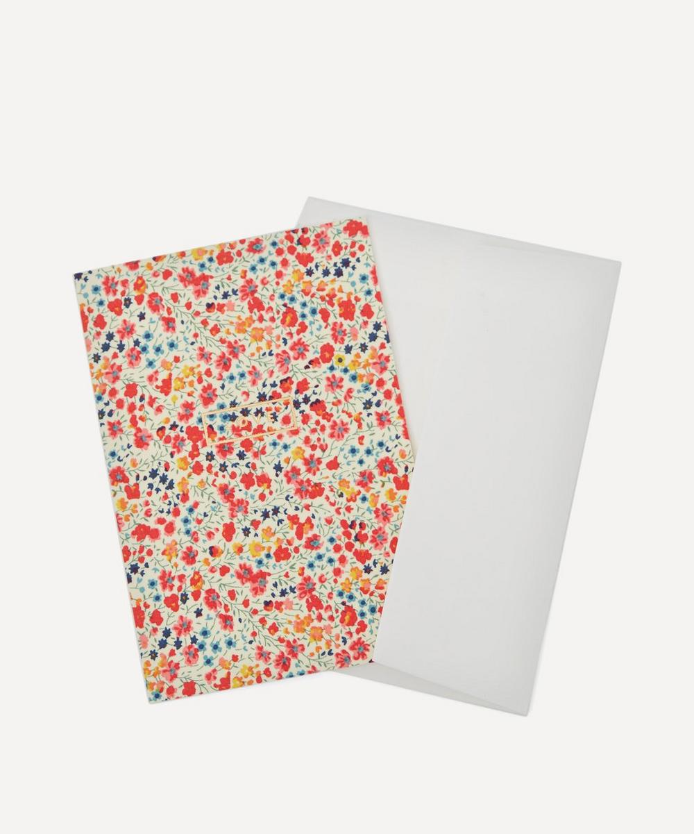 Phoebe Cotton-Covered Love Card