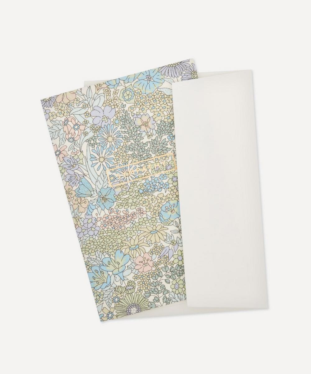 Margaret Annie Cotton-Covered Sympathy Card