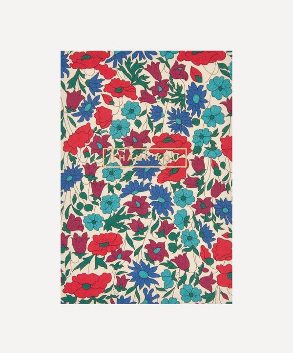 Liberty - Poppy Daisy Cotton-Covered Thank You Card