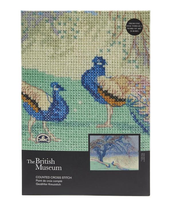 The British Museum When Winter Wanes Cross Stitch Kit