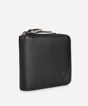 Leather Zip-Around Wallet