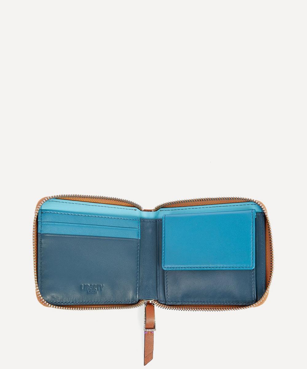 Leather Zip-Around Wallet