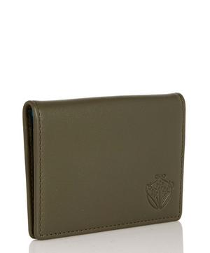 Leather Flip Card Holder